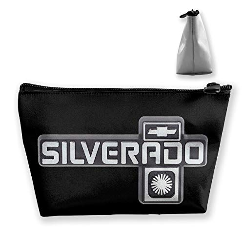 Chevrolet Handbag - NEST-Homer Chevrolet Silverado Logo Storage Bag Handbag Purse Cosmetic Pouch Wallet Portable Makeup Receive Bag Large Capacity Bags Travel Wash Bag