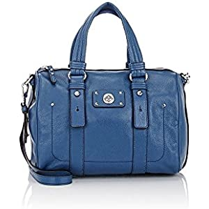 aec50b5bd2e3 Marc by Marc Jacobs Totally Turnlock Shifty Leather Satchel - Deep Blue