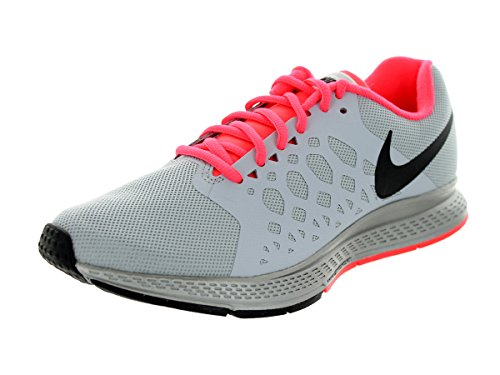 Nike Women's Zoom Pegasus 31 Flash Rflct Slvr/Blk/Wlf Gry/Hypr Pn Running Shoe 6 Women US