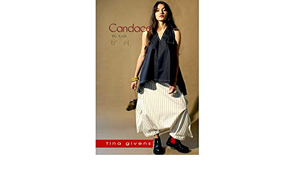 "TINA GIVENS /""CANDACE TOP AND PANT TG-A7158/"" Sewing Pattern"