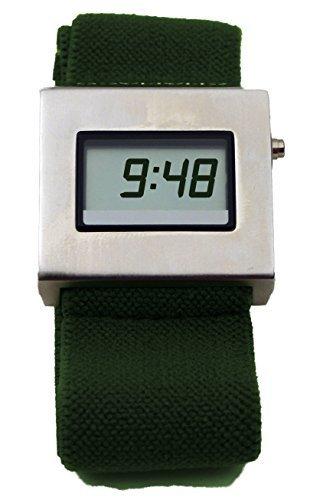 Los hombres de la cuña de diseño de reloj Digital chumaco: Amazon.es: Relojes