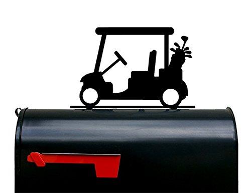 Golf Cart Mailbox Topper / Sign