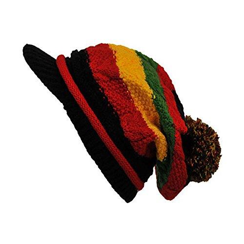 punto de hombre Gorro negro Talla Company única para Bonnet negro 1fHvf