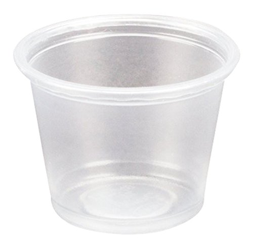 Dart Conex Complements Portion/Medicine Cups, 1 oz, Clear, 125/Bag, 20 (Dart Conex Clear Cup)