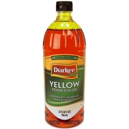 Durkee Yellow Food Color, 6 Bottle Per Case, 32 Ounces Per Bottle. by Durkee