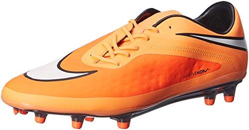 Nike Men's Hypervenom Phatal Fg Football Boots Hyper Crimson White Atomic Orange Black 800