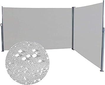 LZQ Toldo Lateral Retráctil de Alumínio Mampara Terraza Anti-UV ...
