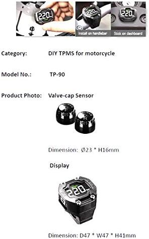 Steelmate tp-70 Diy Auto ajuste TPM de presión de neumáticos sistema de seguimiento