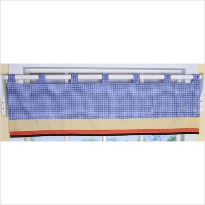 GEENNY Window Valance, Boutique All Star (All Star Valance)