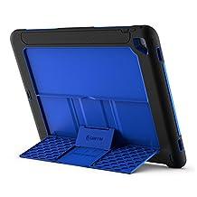 Griffin GB40364 Survivor Slim iPad Pro Carrying Case, Black/Blue