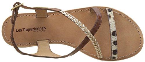 Les Size M Sandals Tropeziennes Belarbi Womens Horse Flat Leather Beige 39 Par BqU6rwB
