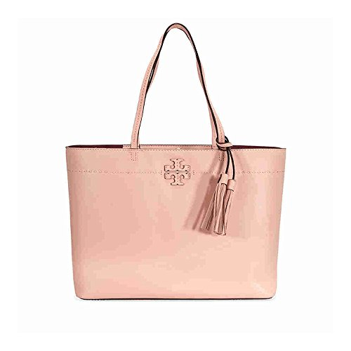 Tory Burch Pebbled Leather McGraw Tote (Pink - Tory Burch Sale