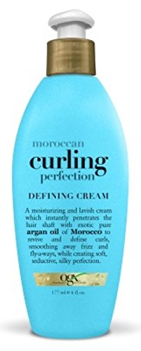Organix Moroccan Curl Perfection Defining Cream, 6oz (3 Pack)