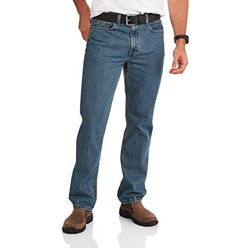 Glory Mens Jeans - Faded Glory Men's Regular Fit Blue Jeans Available In Regular & Big Men's (29X30, Medium Wash)