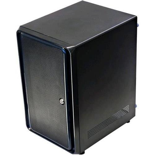 Norco Mini-ITX Form Computer Server Storage Case support 8 x hot swap drive trays (Best Mini Itx Nas Case)
