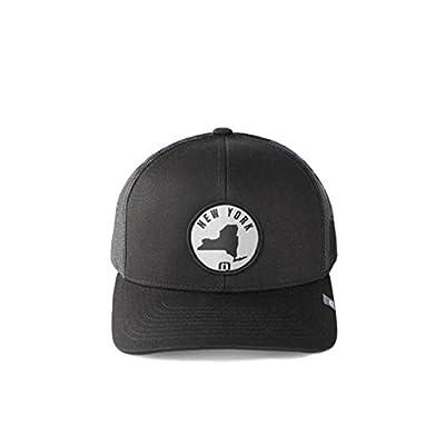 Travis Mathew Big Apple (New York) Snapback Hat Black