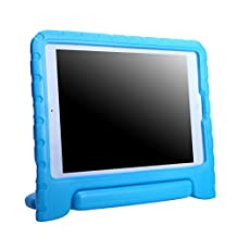 HDE Kids Case for 2017 iPad 9.7-inch, Air 2, Air 1 Shock Proof Cover with Handle Stand for Apple iPad 2017, iPad Air 2, iPad Air 1 (Blue)