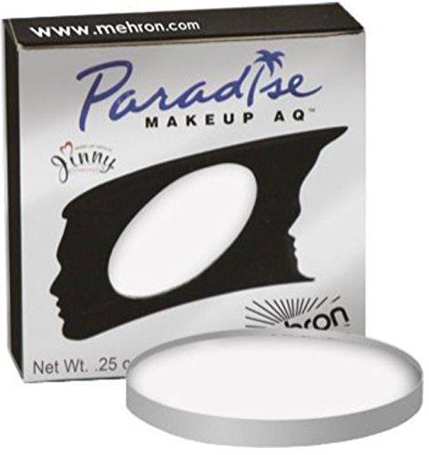 Mehron Makeup Paradise Makeup AQ Refill (.25 oz) (White)