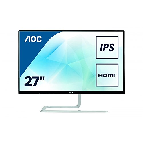 AOC I2781FH Ultra Slim Design 27-Inch 1920 x 1080 LED Monitor -...
