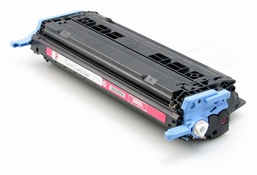 Calitoner Remanufactured Toner Cartridge Replacement for HP 124A (Q6003A) (Magenta) (Cartridge Magenta Q6003a Laser)