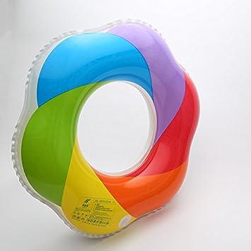 qxj adulto hembra anillo de brazos Anillo de natación inflable flotador salvavidas más extremo cilíndrico Natación vueltas 90cm: Amazon.es: Deportes y aire ...
