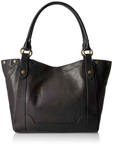 Black Leather Shoulder Melissa FRYE Handbag HxI8nB