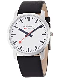 Men's A672.30350.11SBB Simply Elegant Leather Band Watch