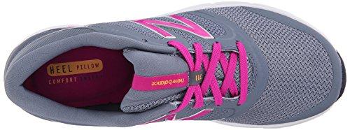 WX711 New de Training Gym deporte Zapatillas Pink mujer para Balance Fitness Grey 5qqUwZ7