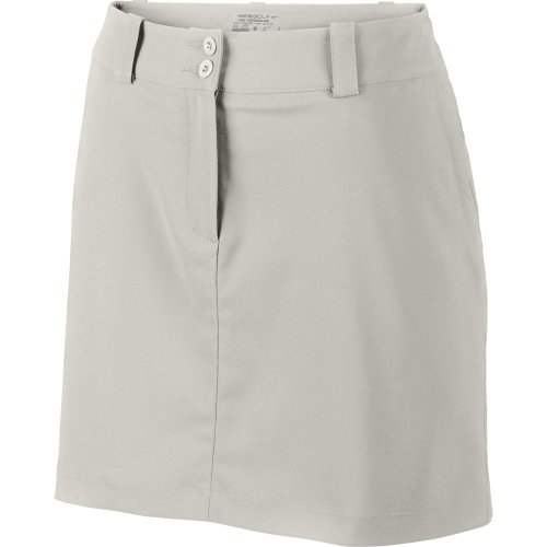 Nike Women's Modern Rise Tech Golf Skort, Light Bone - 4