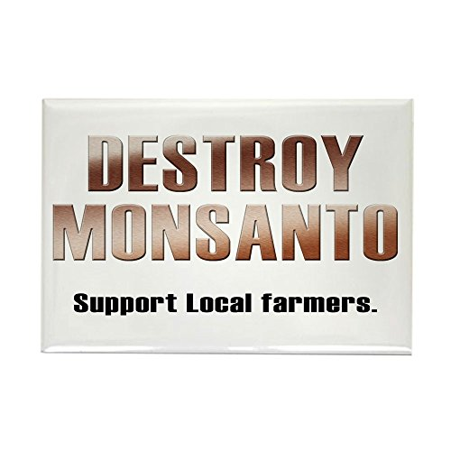 CafePress - Destroy Monsanto Rectangle Magnet - Rectangle Magnet, 2