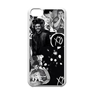 C-EUR Print The Weeknd XO Pattern Hard Case for iPhone 5C