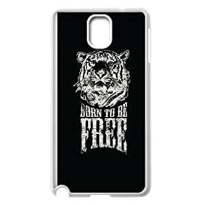 Samsung Galaxy Note 3 Cell Phone Case White quotes born to be free LSO7928827