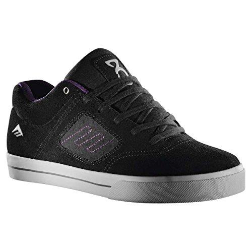 EMERICA Youths Shoe REYNOLDS 3 bla/gry/sil, schwarz 4½ C