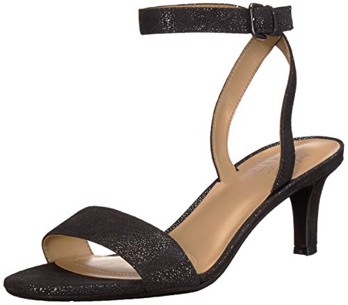 Naturalizer Women's TINDA Shoe, Black Glitter, 7 M US
