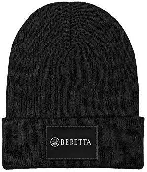 Beretta Black Fleece Beanie Hat