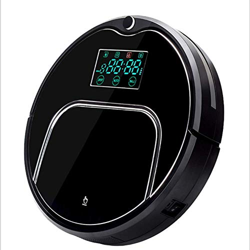 (ZYZWL Household Charging Intelligent Sweeping Mopping Machine Lazy Vacuum Cleaner Cleaning Robot, Home Automatic Washing Machine Ultra-Quiet,Black)