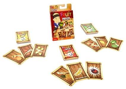 Mattel Fruit Ninja Card Game by: Amazon.es: Juguetes y juegos