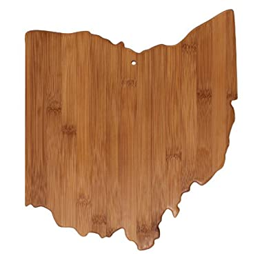 Totally Bamboo Cutting and Serving Board, Ohio State