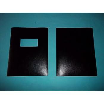 amazon com gbc 2000702 presentation cover black window 11 25 x