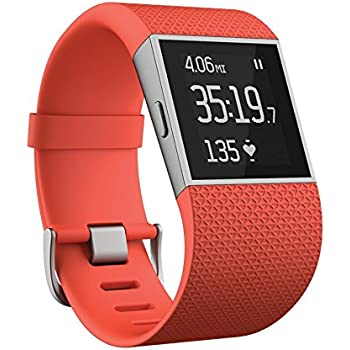 Fitbit Surge, Tangerine, Small (US Version)