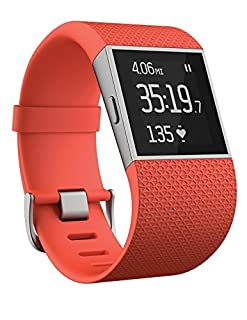 Fitbit Surge, Tangerine, Large (B017AGN7GK) | Amazon Products