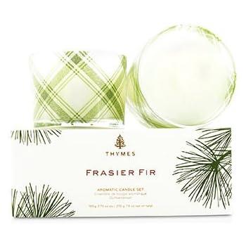 Thymes Frasier Fir Candle Set - 2 x 3.75 oz.