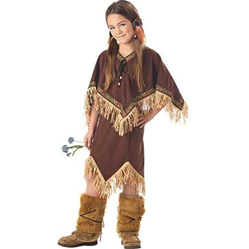 Child's Pocahontas Costume (Size: X-Small 4-6)