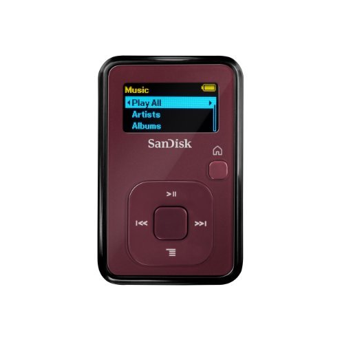 4 GB MP3 Player (Red) (Discontinued by Manufacturer) ()