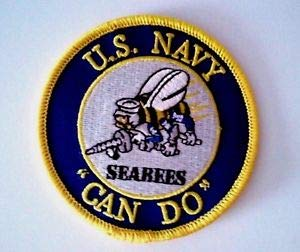 U.S. Navy Seabees Can DO Patch Sewn or Iron On 3