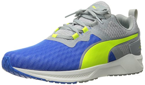 Puma Mens Ignite Xt V2 Crosstrainer Schoen Elektrisch Blauw Limonade