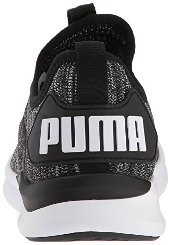 Puma Kvinna Tända Flash Evoknit Wn Sneaker Puma Svart Asfalt-puma Vit