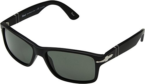 Persol  Men's 0PO3195S Matte Black/Gradient Grey One - Sunglasses Black Matte Persol