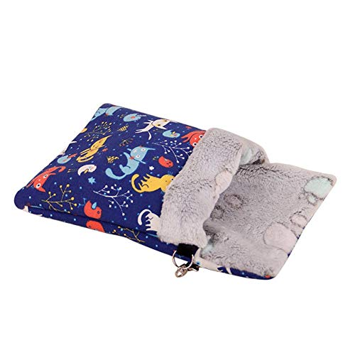 Lorchwise Small Pet Hamster Bed – Warm Cotton Nest Sleeping Bag C