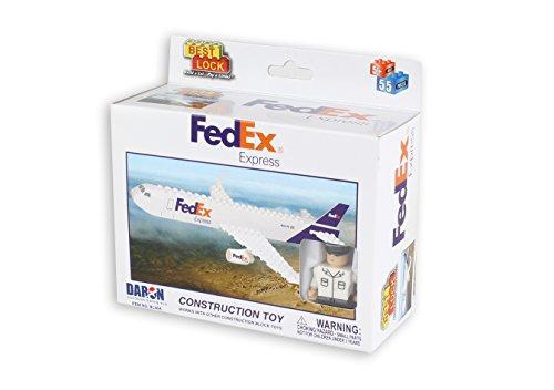 Daron FedEx Airplane Construction Toy (55 Piece)